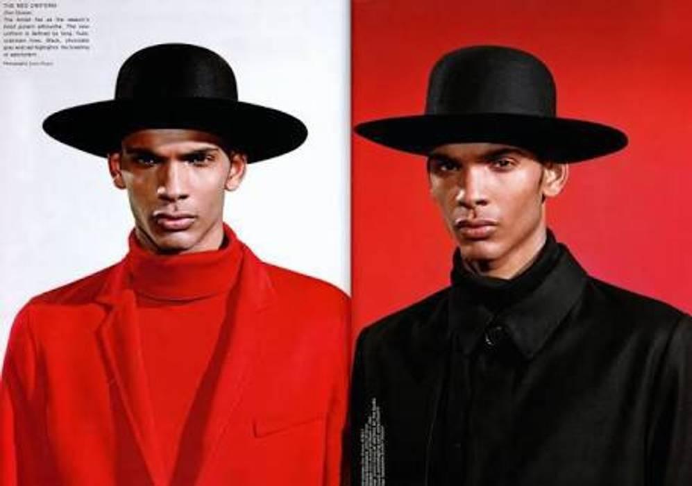 Dior Dior Homme FW11 Amish Rabbit Black Felt Fedora Hat Sz 56 Size ONE SIZE  - 8b57260d25e