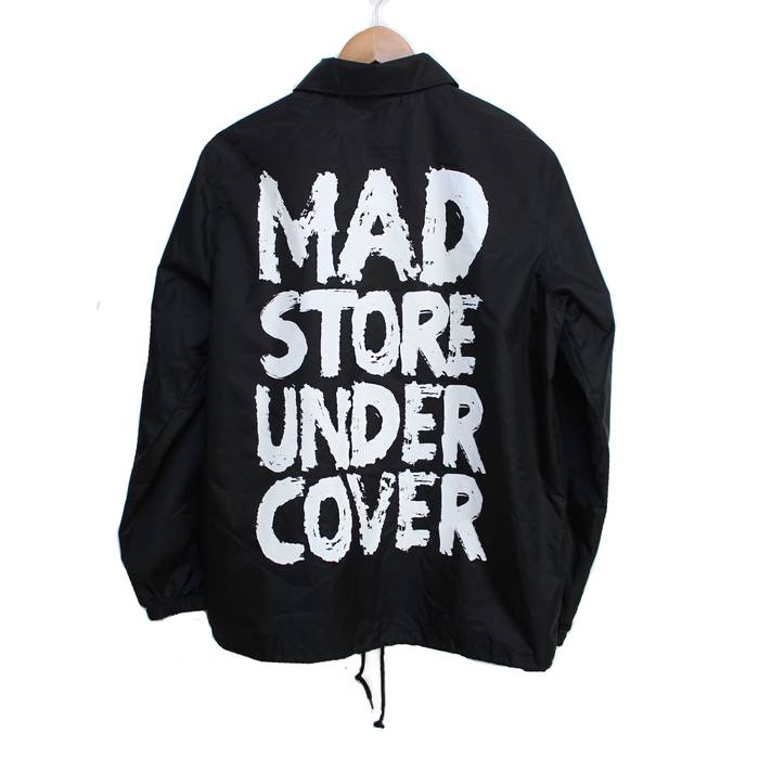 a8b1fd423 Undercover MADSTORE Nylon Coaches Jacket (Black) Size m - Light ...