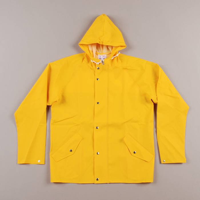 Norse Projects Norse Projects X Elka Rain Jacket (yellow) Size US S   EU fca77c03fa19