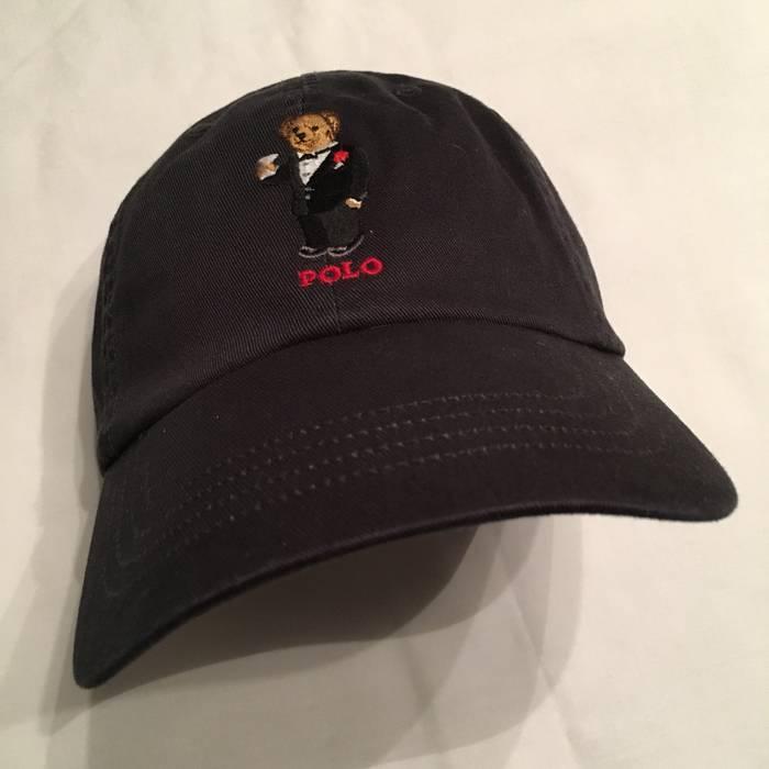 5b128344fc9b6 Polo Ralph Lauren Polo Martini Bear Hat Cap Black Size one size ...