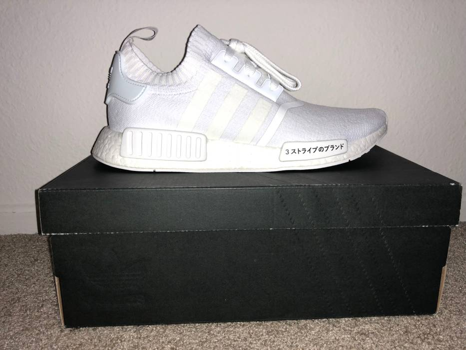 8b76dc4caaba5 Adidas Japan triple white nmd R1 PK Size 10 - Low-Top Sneakers for ...