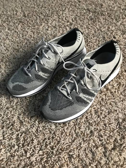 9971a004d43090 Nike Nike Flyknit Trainer Pale Grey Gray Size 9.5 - Low-Top Sneakers ...