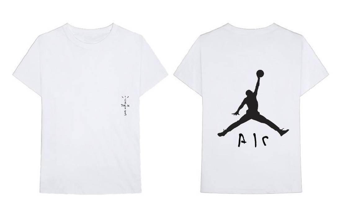 32ad9648712 Travis Scott Air Jordan x Travis Scott Cactus Jack T-shirt  4 Size m ...
