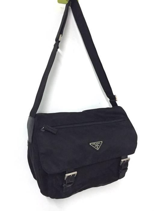 0df71c95ed Prada Prada Sling Bag Black Lampo and Opti Zipper Size one size ...