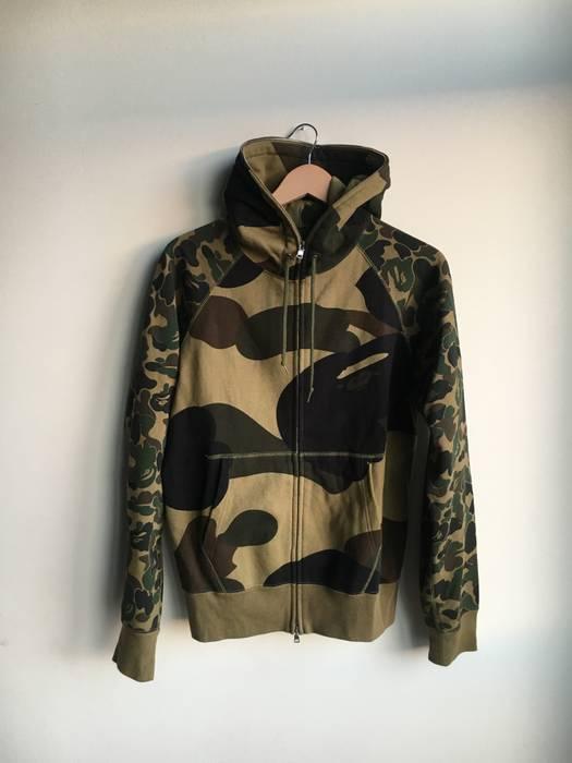 9822ab8cb233 Bape BAPE CAMO FULL ZIP HOODIE Size m - Sweatshirts   Hoodies for ...