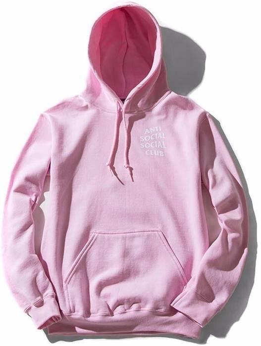 50448c975f60 Antisocial Social Club ASSC Pink Know Hoodie Medium Size m ...