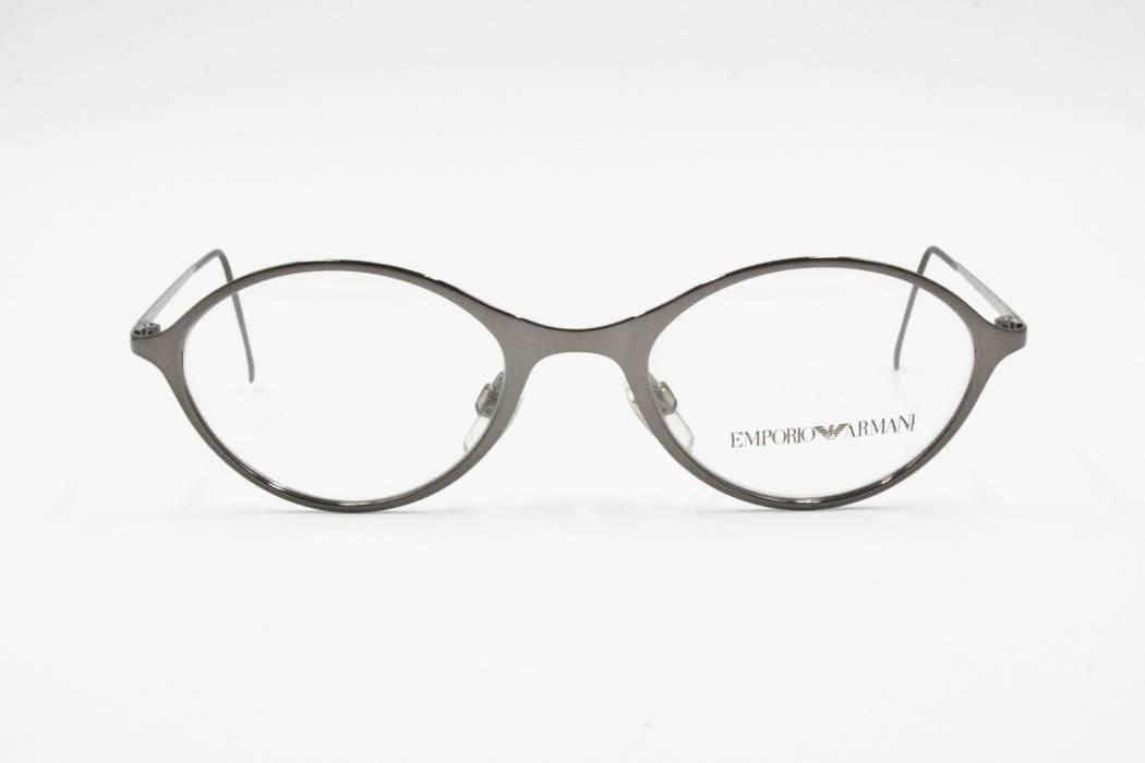 a99390f05a4e Emporio Armani Gunmetal reflective Emporio Armani eyeglasses frame ...