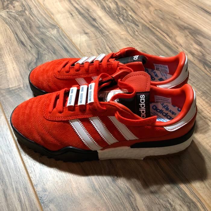 finest selection c9169 e6631 Adidas Adidas Originals by Alexander Wang BBall Soccer Orange Suede  Sneakers Size US 7  EU