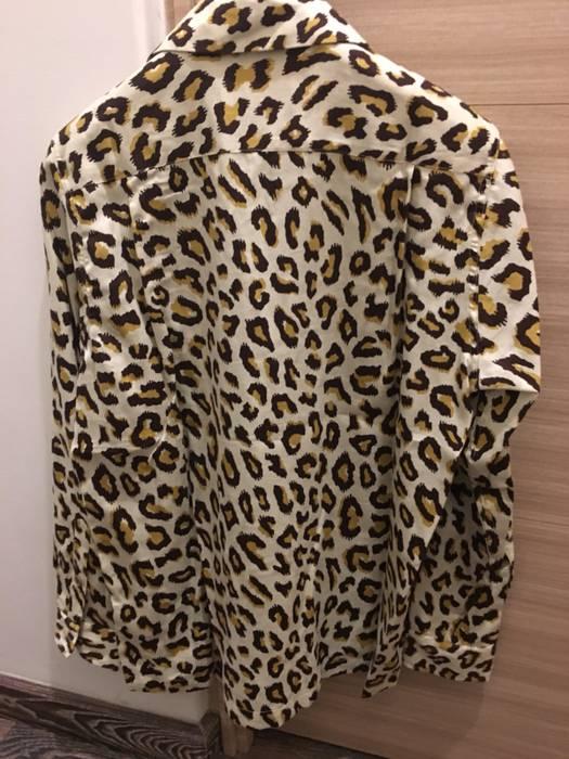 73a35a83 Wacko Maria SS18 Leopard Babycat Aloha Hawaiian Shirt Small Cotton Lyocell  Saint Laurent Silk Like Size