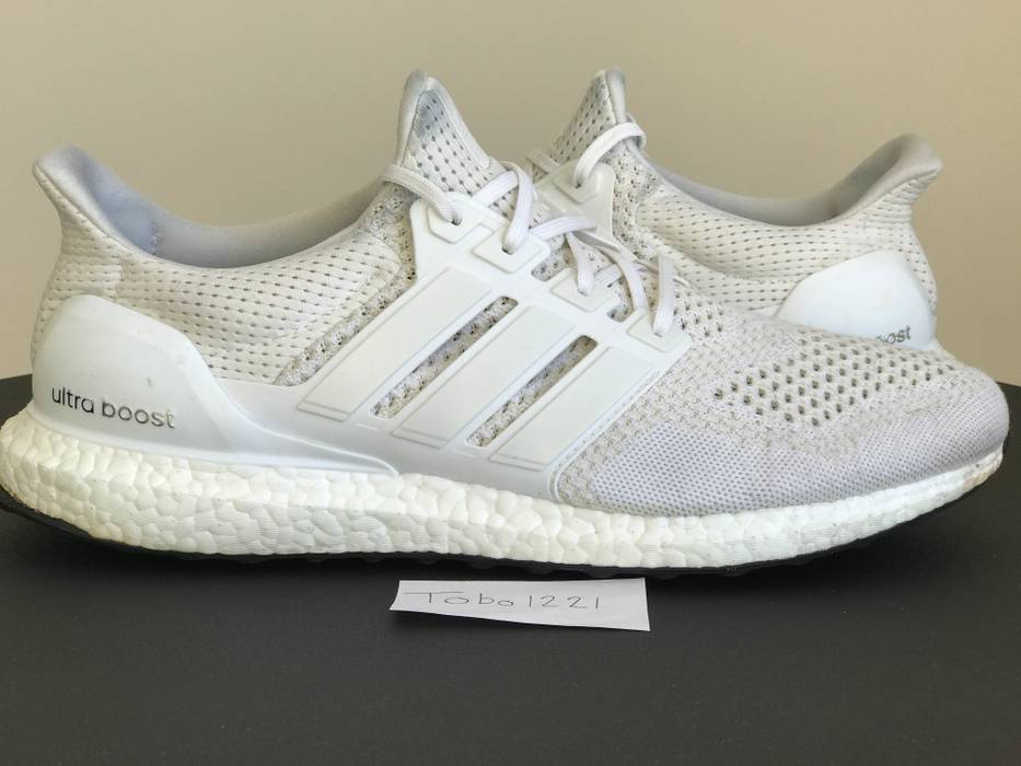 e249f09eab061 ... reduced adidas adidas ultra boost triple white 1.0 og nmd sz 12.5 size  us 12.5 eu