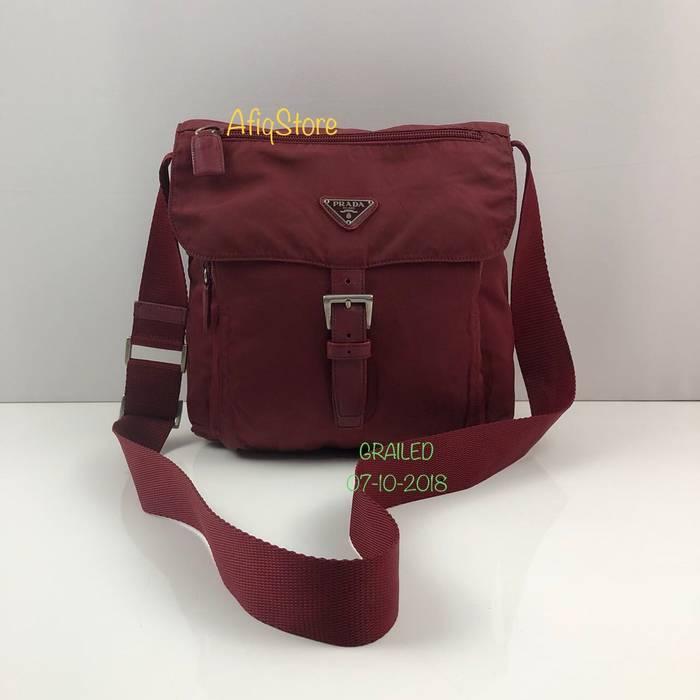 ed97c64241c0 Prada PRADA MILANO CROSSBODY SLING BAG Size one size - Bags ...