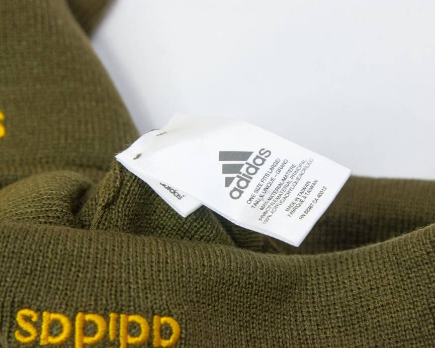 fe5f25be474 Adidas Adidas X KITH Soccer Rays Olive Beanie Hat K Wollie Size ONE SIZE - 1