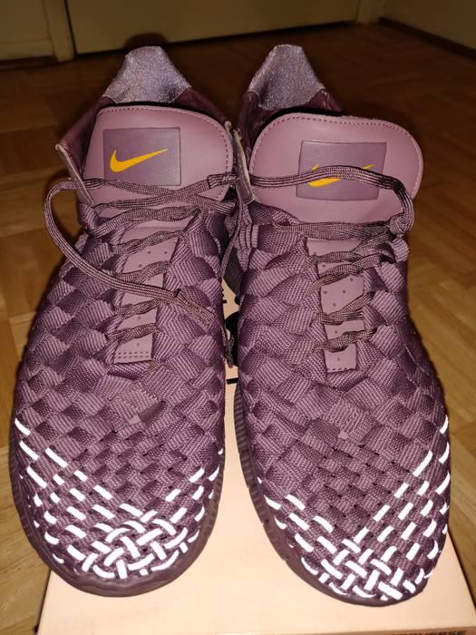 size 40 83d31 6b2cd Nike. Rare purple Nike reflective mesh sneakers