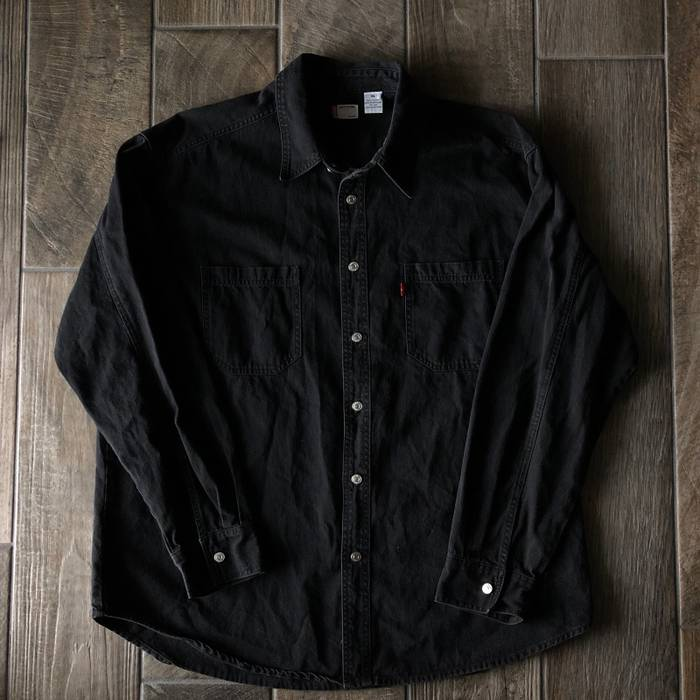 c470ba948ee Levi s Vintage 90s Levi s Black Denim Jacket Size xl - Denim Jackets ...