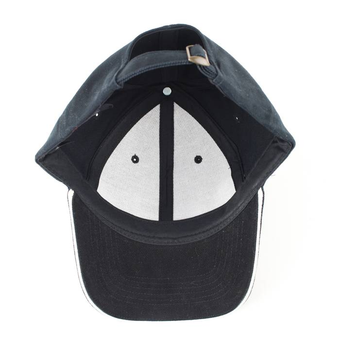 013662760489d Vintage NEW Michelin Tires Black Metal Accent Strapback Baseball Hat Size  ONE SIZE - 5