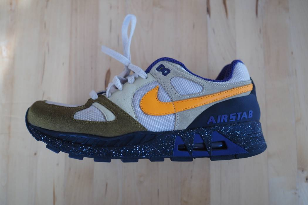 new products 08228 c8e96 Nike. Air Stab Vegas Gold