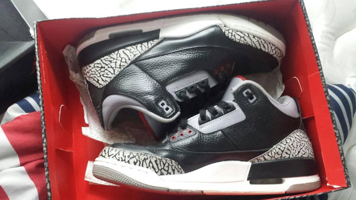 677479f06cae Jordan Brand Air Jordan 3 Black Cement Size 11 - Hi-Top Sneakers for ...