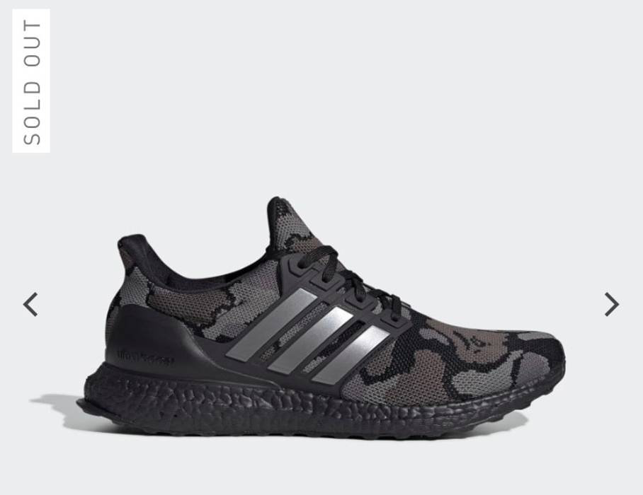 1e6cf21f282 Adidas ULTRA BOOST BAPE Size 10 - Low-Top Sneakers for Sale - Grailed
