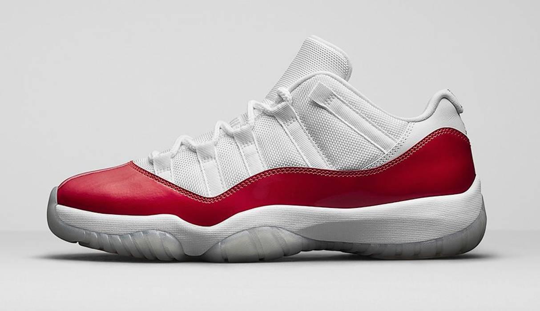 c7f0ae4176ff3d Jordan Brand Air Jordan 11 XI Retro Low Cherry White Red Size 8.5 ...