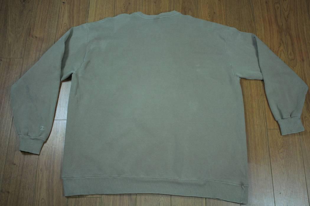 623d5672578c5 Champion Vintage Champion Spellout Script Crewneck Sweater Sweatshirt Tan  Khaki 90s Mens XXL2 Size US XXL