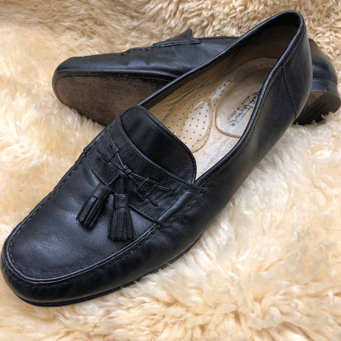 6f154b1cb21 Santoni Santoni Leather Loafers Size 10 - Casual Leather Shoes for ...