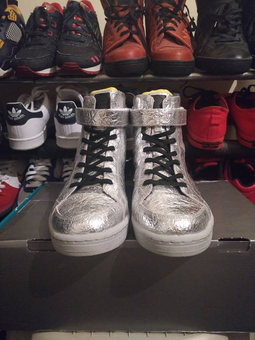494f10a7354f Adidas Adidas SLVR Cupsole Hi-Top Size 12 - Hi-Top Sneakers for Sale ...