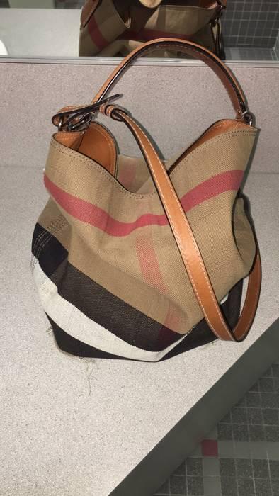 Burberry Medium Ashby Check Print Bucket Bag Size one size - Bags ... 7491d174811cd