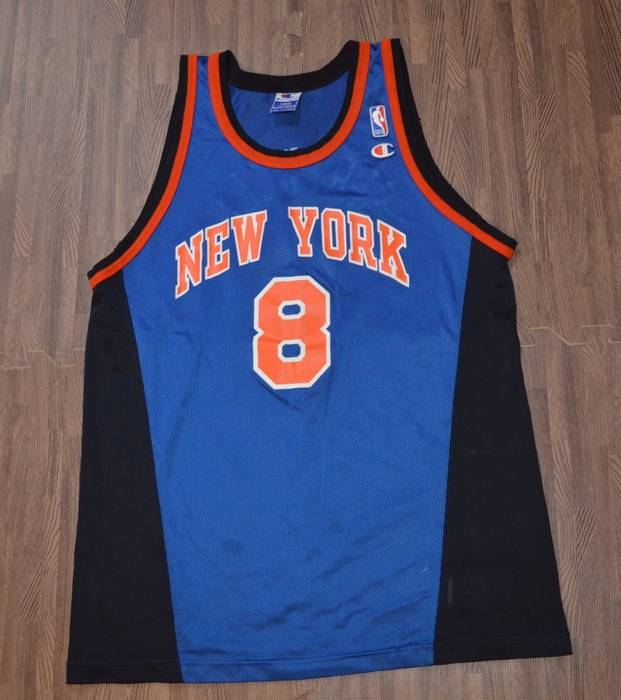 aa698d49852 official store champion 98 03 champion latrell sprewell new york knicks  graphic jersey size us 9b77f