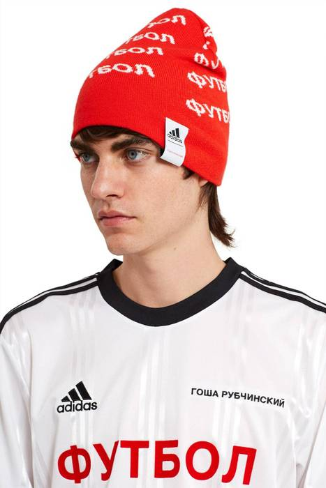 Adidas ADIDAS x GOSHA RUBCHINSKIY RED BEANIE Size one size - Hats ... a5aeb629c7e