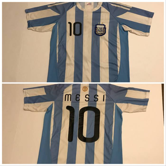 854e8e674db Vintage LIONEL MESSI Argentina National Team Official Jersey Soccer Jersey  Active Shirt Size US M