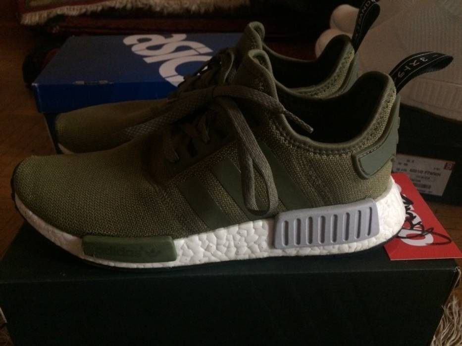 Adidas Adidas NMD Olive Footlocker Exclusive Size 8.5 - Low-Top ... 60e18c3fe