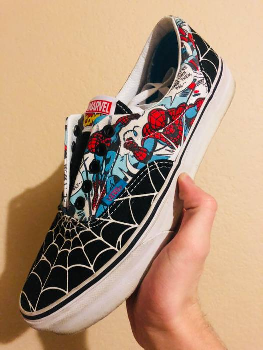 Vans Spider-Man Authentics Size 9 - Low-Top Sneakers for Sale - Grailed 6092058ce