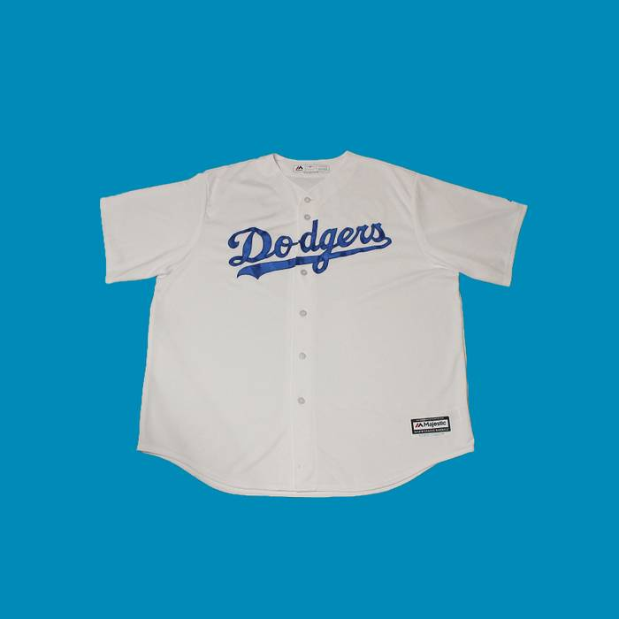 Majestic Authentic Los Angeles Dodgers Justin Turner White Baseball Jersey  Size US XXL   EU 58 f65d224469d