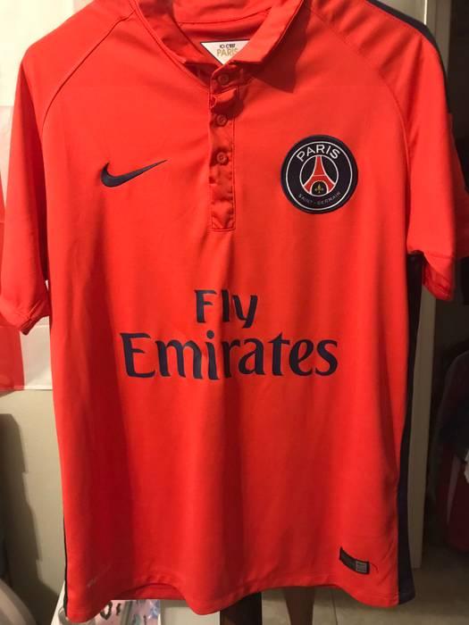 e1c654ea3 Nike Paris Saint- Germain Ibrahimovic Soccer Jersey PSG Size m ...