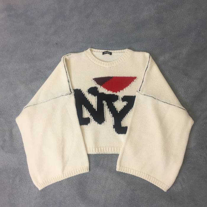 Raf Simons Raf Simons Oversized Heart Ny Sweater Size M Sweaters