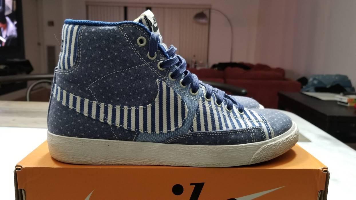 Nike Blazer Mid Premium Vintage QS    Patchwork Size 7 - Hi-Top ... a2fc40374d4a