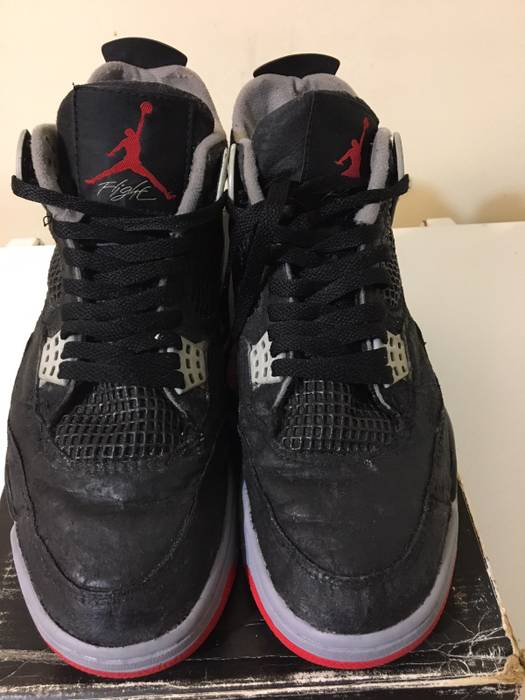 f82a1aa3a0ef1d Nike 1989 Air Jordan Black Cement 4 Size 10.5 - Hi-Top Sneakers for ...