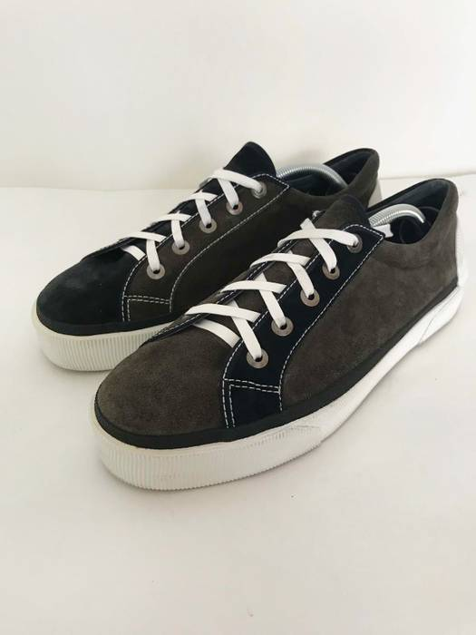Lanvin lanvin toe cap leather sneaker Size 12 - Low-Top Sneakers for ... 16033bc1776