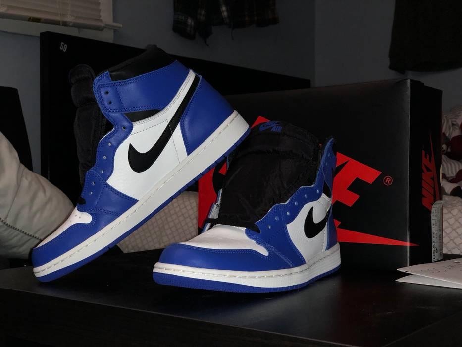 Nike Air Jordan 1 Retro High OG Game Royal Size 9.5 - Hi-Top ... fa8b52b8d