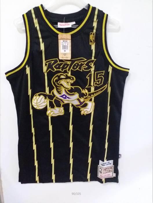 Jersey. Mens Toronto Raptors  15 Vince Carter Basketball Jersey Black ... 57c51074f