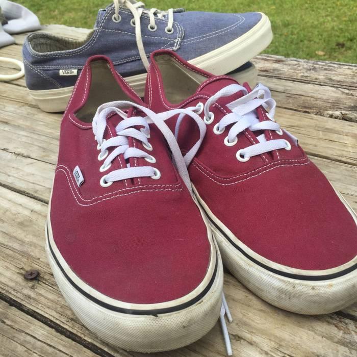 2733606cdd5 Vans Vans Bundle (Red   Denim Blue) Size 12 - Low-Top Sneakers for ...