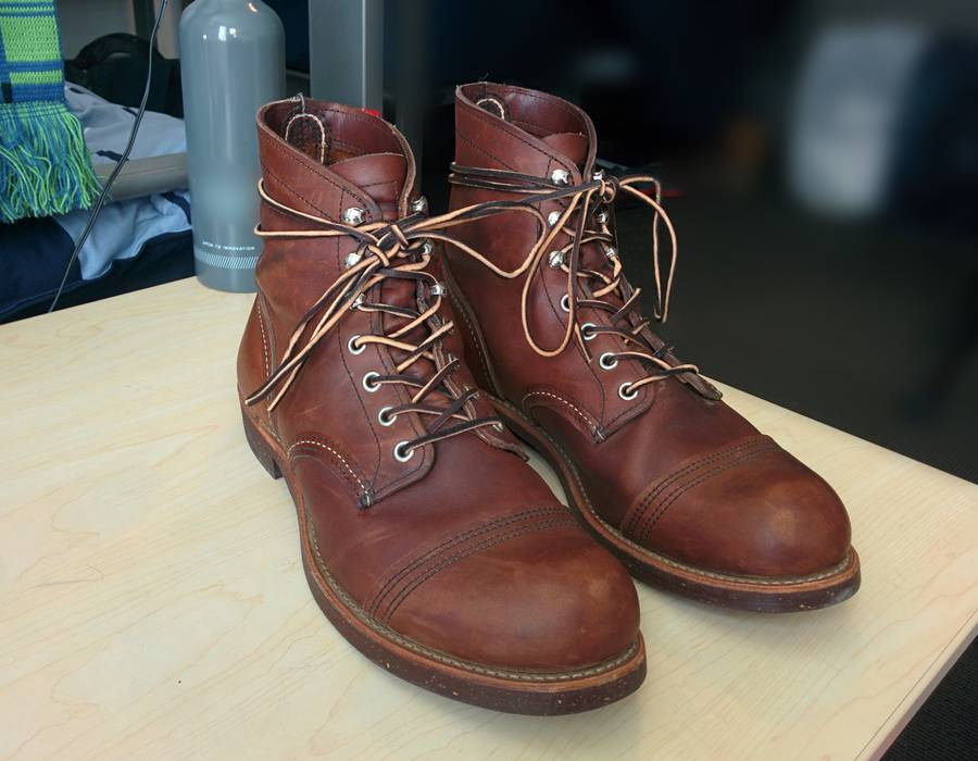 Red Wing Iron Ranger Size 95 For Sale Grailed