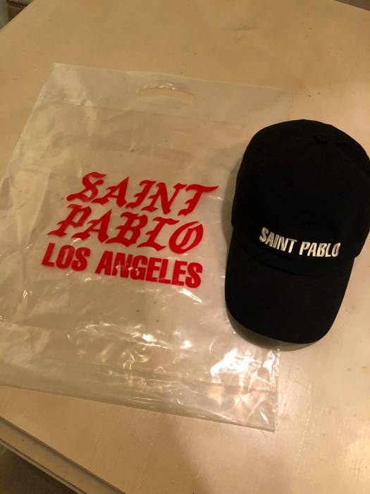 Kanye West Saint Pablo tour adjustable Dad hat Size one size - Hats ... a7b6e46250bf