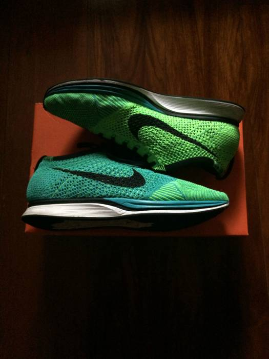 8619c6d0624e Nike Flyknit Racer Lucid Green sz10 Size 10 - Low-Top Sneakers for ...