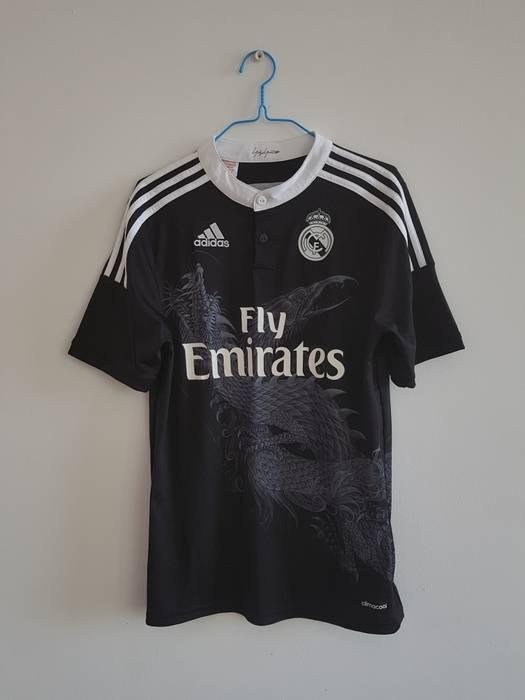 b9be055912f9 Adidas Yohji yamamoto x adidas alternate Real madrid jersey 2014 2015 Size  US S