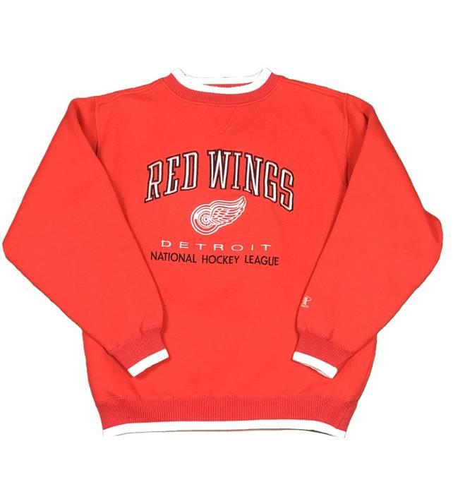 Vintage Vintage Logo Athletic Detroit Red Wings Crewneck Size US L   EU  52-54 7ffcbaddd