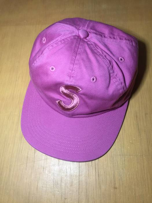 7840f0a5f2d Supreme Tonal S Logo 6-Panel Bright Rose Size one size - Hats for ...