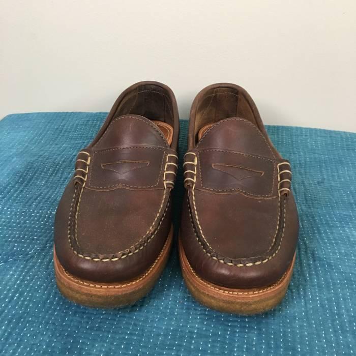 44ec4431647 Oak Street Bootmakers Oak Street Crepe Sole Beefroll Penny Loafers Size US  10   EU 43