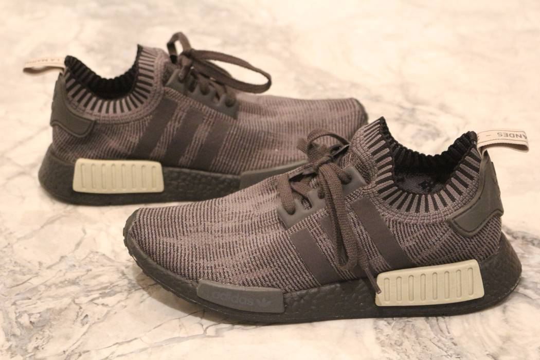 7661d3c70059 Adidas Nmd R1 Primeknit Black Olive - Best Pictures Of Adidas ...