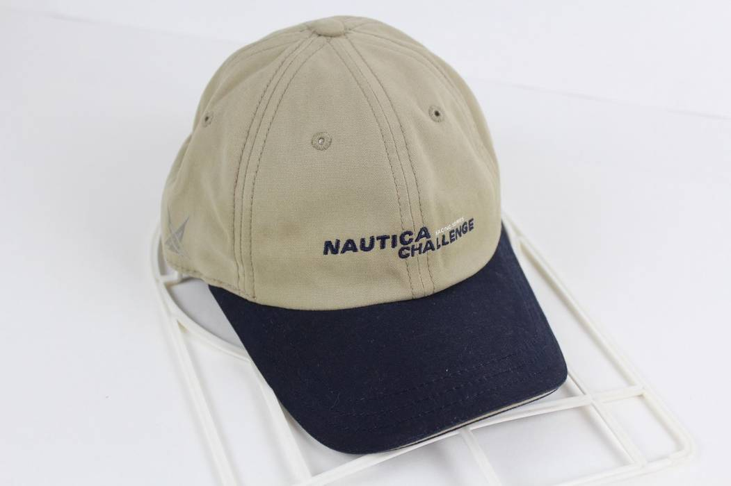 Vintage Vintage 90s Nautica Challenge Racing Series Spell Out Cotton Dad Hat  Size ONE SIZE 9ba9c094f66